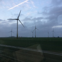 Windmills in northern Germany