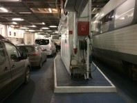 """Parked"" in the ferry!"