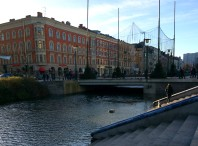 Canal in Malmö