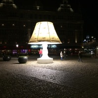 Lilla Torg by night