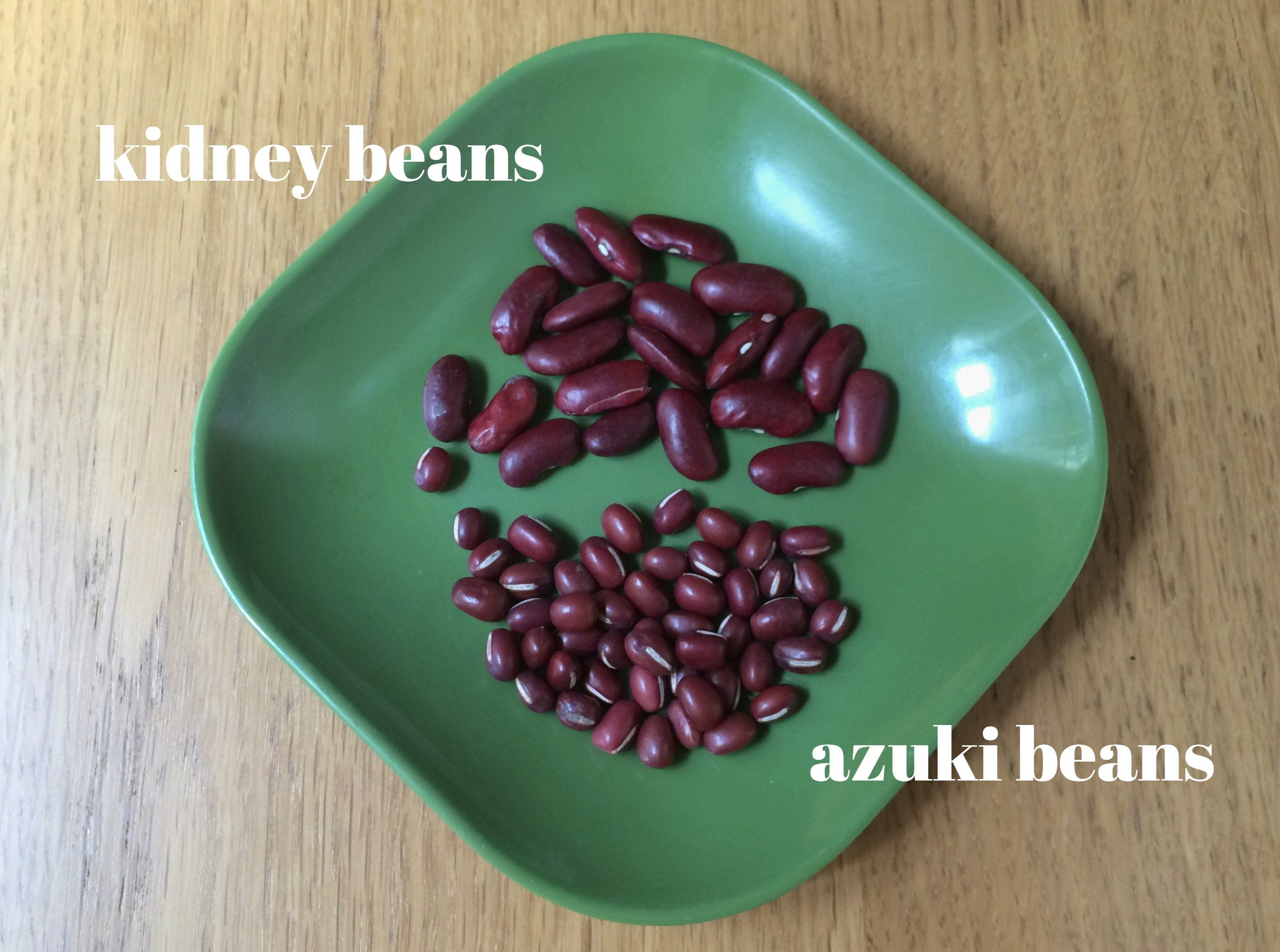kidney vs. azuki