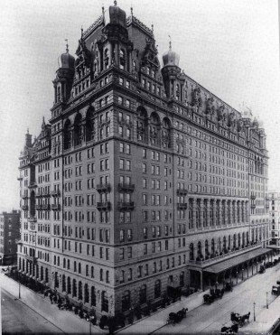 The Waldorf-Astoria circa 1893