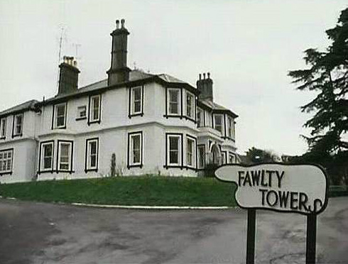 The somewhat less grand Fawlty Towers, circa 1979