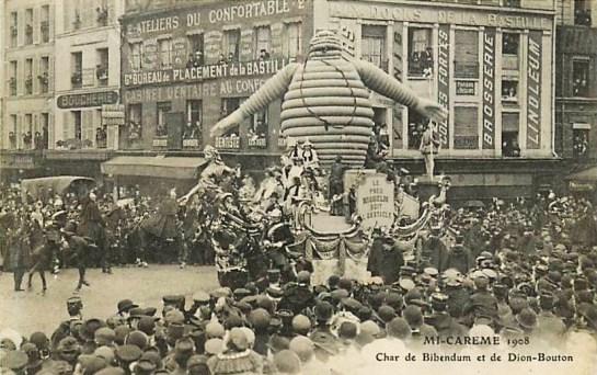 Char_de_Bibendum_et_De_Dion-Bouton_à_la_Mi-Carême_1908_à_Paris
