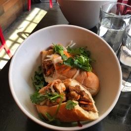 Vietnamese tofu banh mi