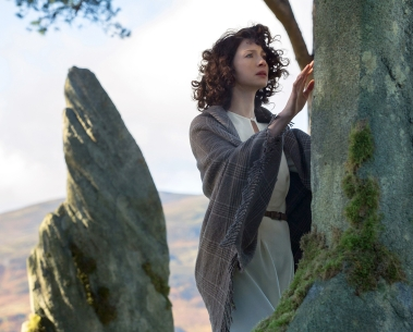 Outlander Claire at the stones